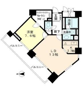 ミレニアムガーデンコート1501号室