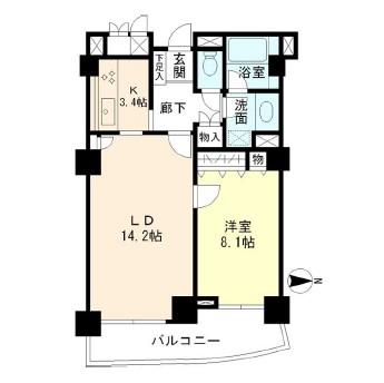 ミレニアムガーデンコート603号室