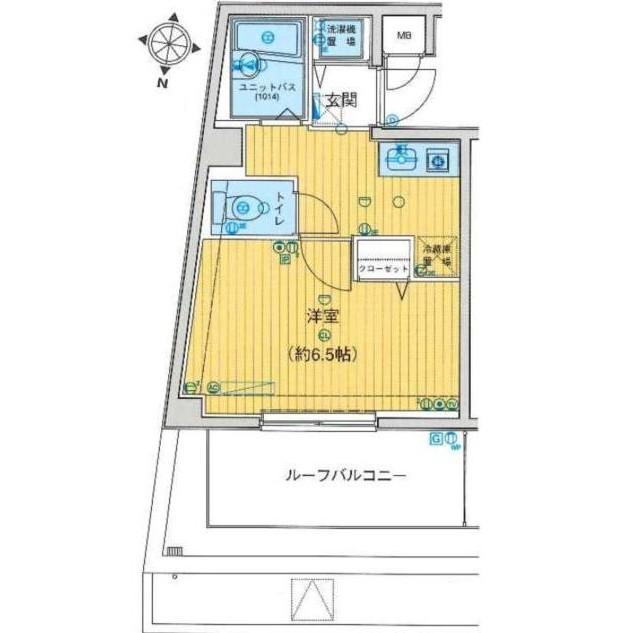メインステージ白金高輪401号室