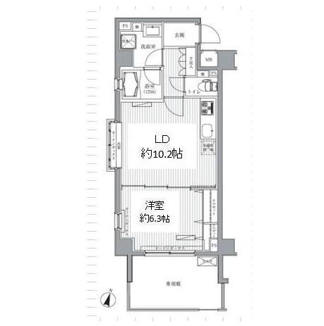 メゾンカルム西新宿101号室