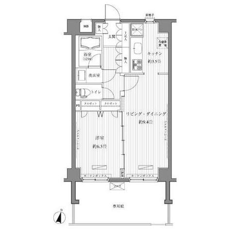 メゾンカルム西新宿104号室
