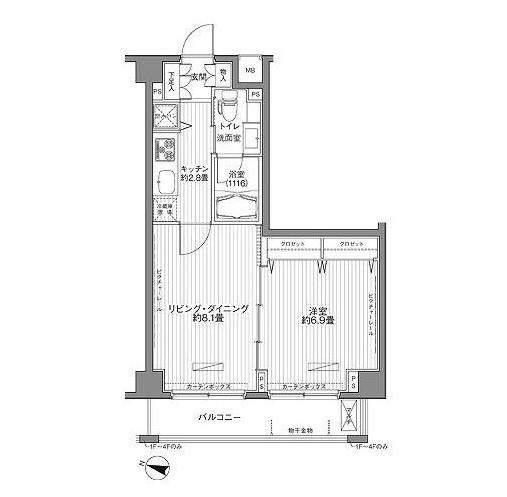 メゾンカルム西新宿210号室