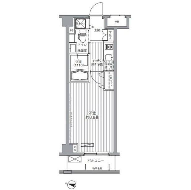 メゾンカルム西新宿212号室