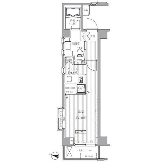 メゾンカルム西新宿215号室
