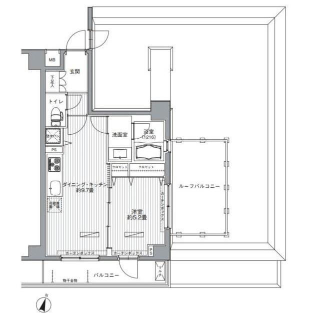 メゾンカルム西新宿308号室