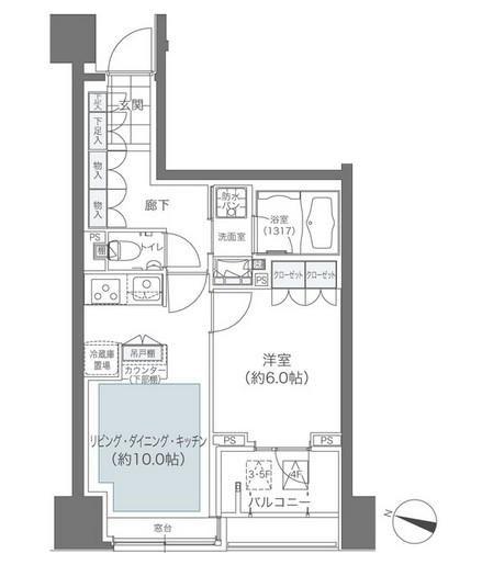 メゾンカルム本郷1103号室