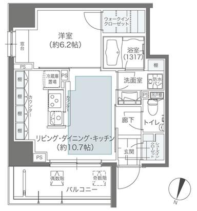 メゾンカルム本郷701号室