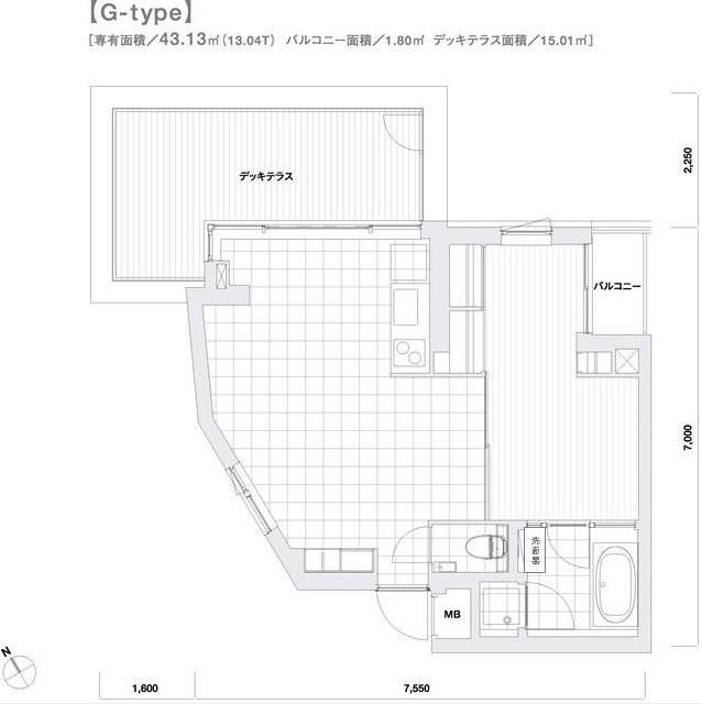 モデリアブリュット参宮橋205号室