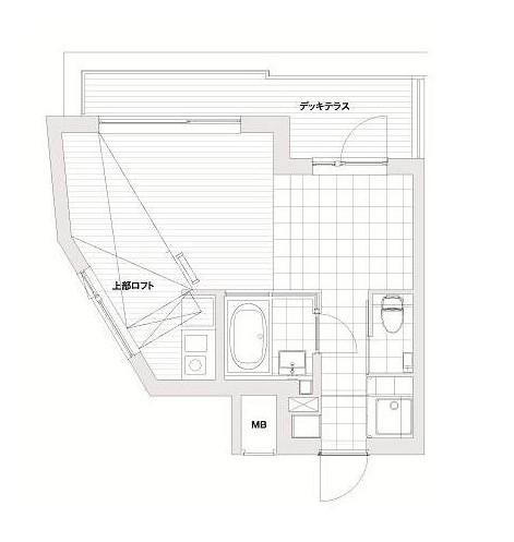 モデリアブリュット参宮橋402号室