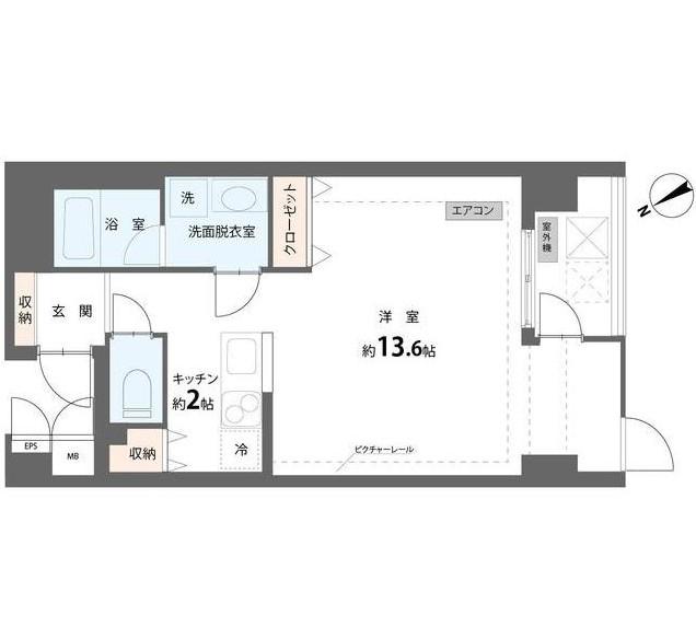 ユニテ E503号室