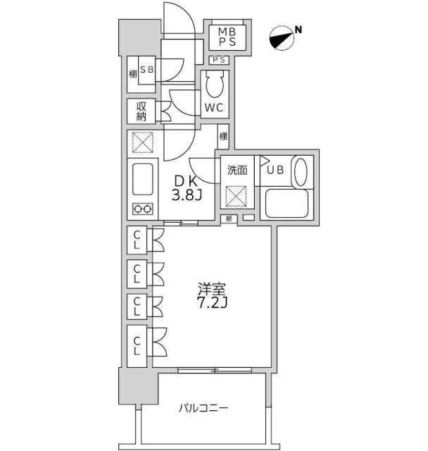 ライオンズシティ白金高輪406号室