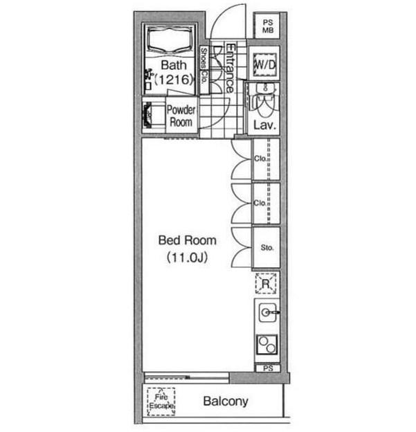 コンフォリア早稲田303号室