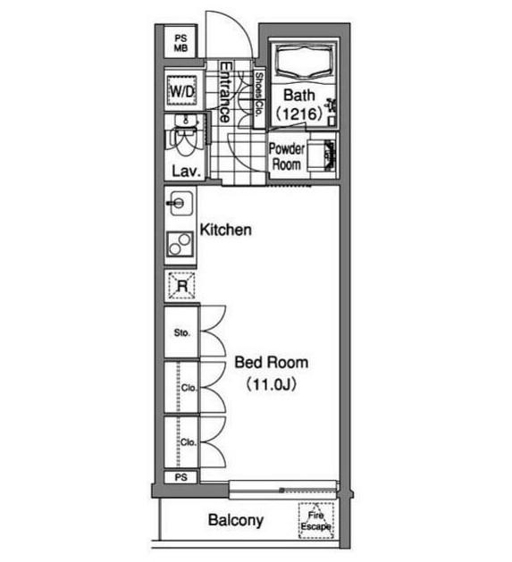 コンフォリア早稲田406号室