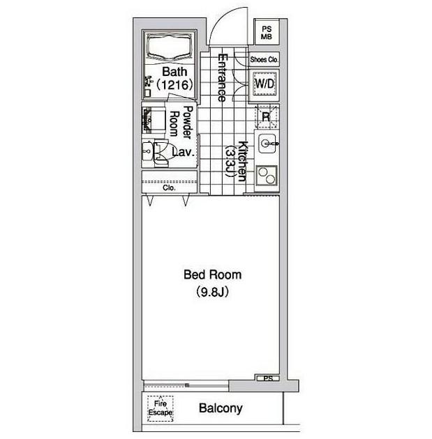 コンフォリア早稲田413号室