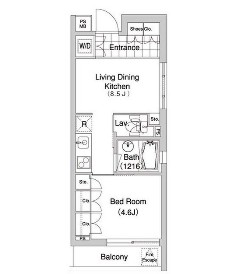 コンフォリア早稲田416号室