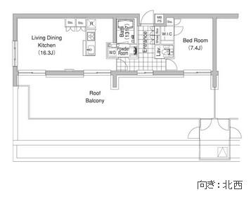コンフォリア早稲田506号室