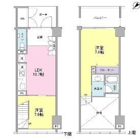 ラフィーヌ銀座1104号室