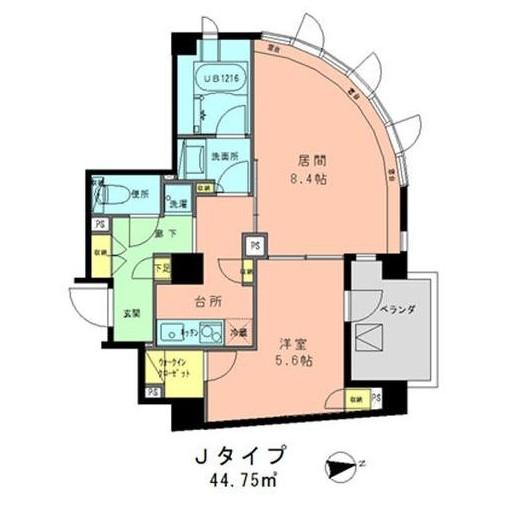 ラフィネジュ学芸大学802号室