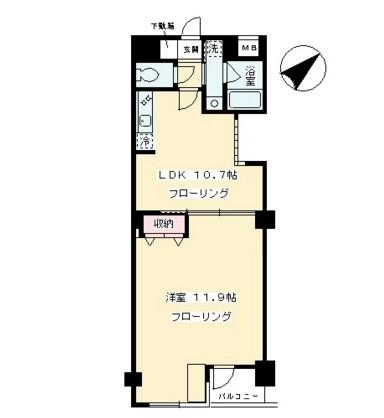 リ・モード南青山104号室