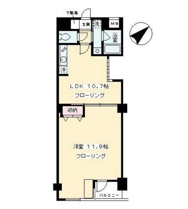 リ・モード南青山205号室