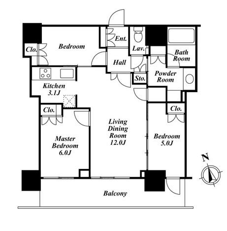 リエトコートアルクスタワー1305号室