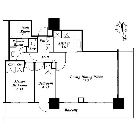 リエトコートアルクスタワー 510号室
