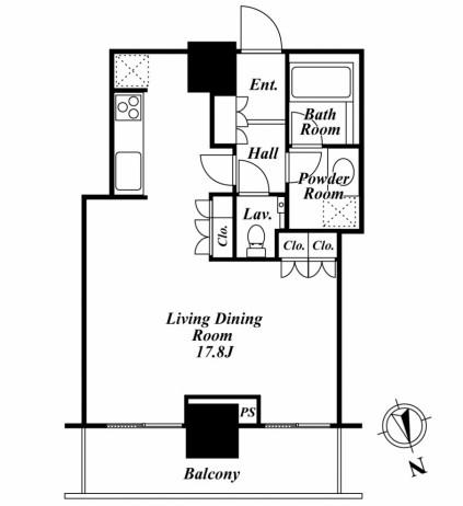 リエトコートアルクスタワー 511号室