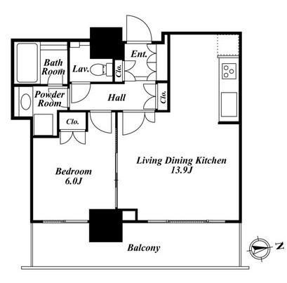 リエトコートアルクスタワー 903号室