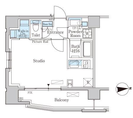 ルーエ渋谷神山町303号室