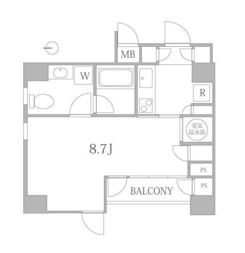 ルーチェ高輪302号室