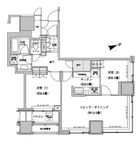 ウェストパークタワー池袋1013号室