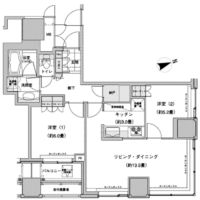 ウエストパークタワー池袋1113号室
