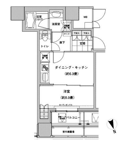 ウエストパークタワー池袋1901号室