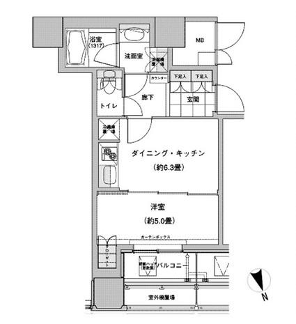 ウエストパークタワー池袋2001号室