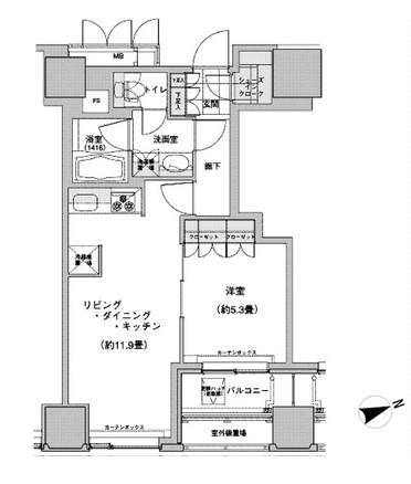 ウエストパークタワー池袋 212号室