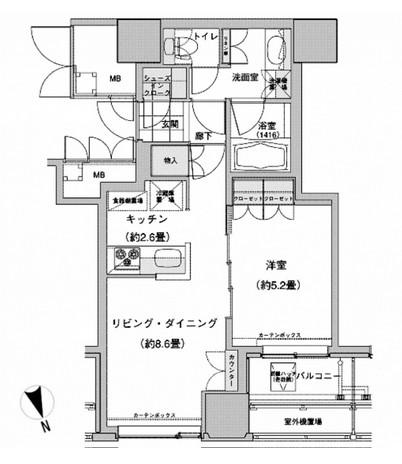 ウエストパークタワー池袋 214号室