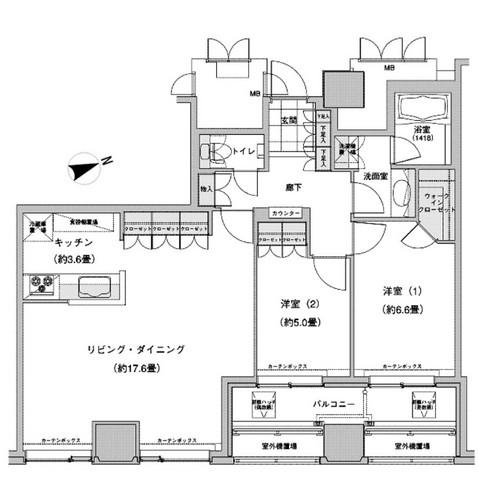 ウエストパークタワー池袋2907号室