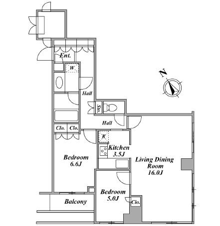 ウエストパークタワー池袋 309号室