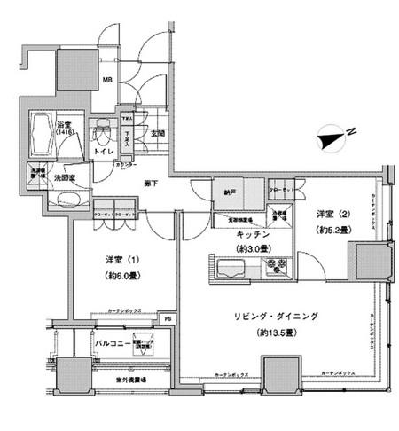 ウェストパークタワー池袋 813号室