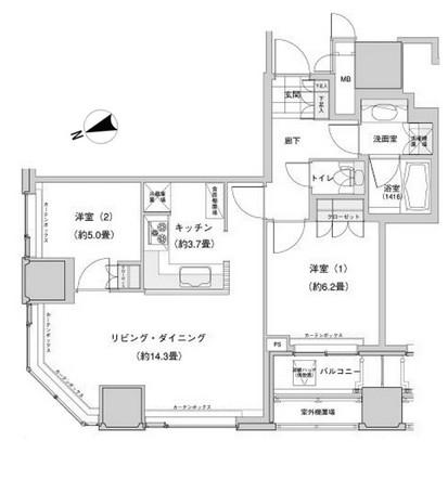 ウエストパークタワー池袋 902号室