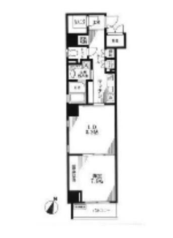 レスプリヴァルール801号室