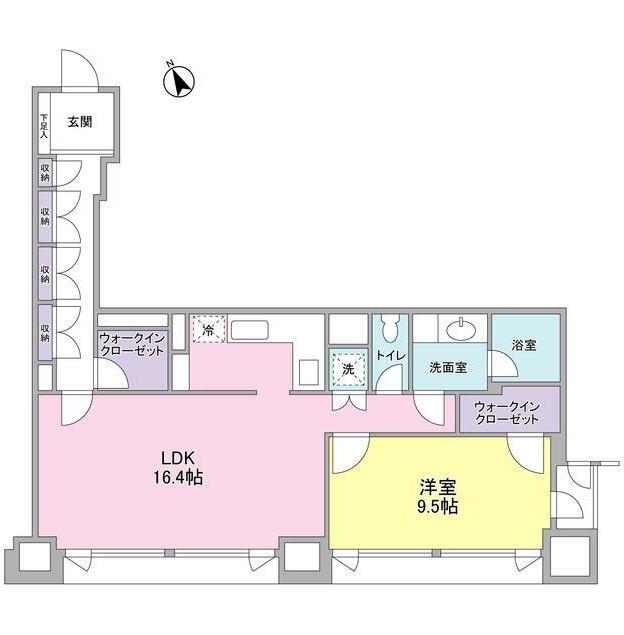 愛宕ビューアパートメント1504号室