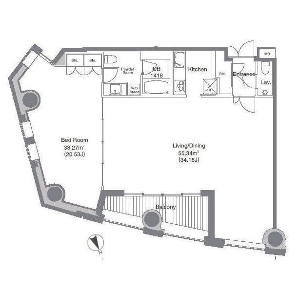 安全ビルレジデンス2102号室