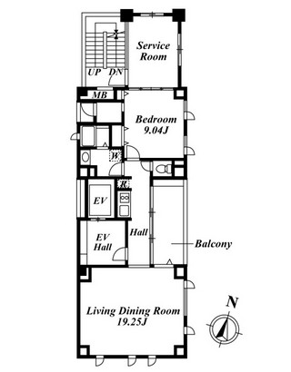 広尾Quarto 401号室