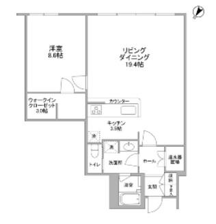 渋谷プロパティータワー1304号室