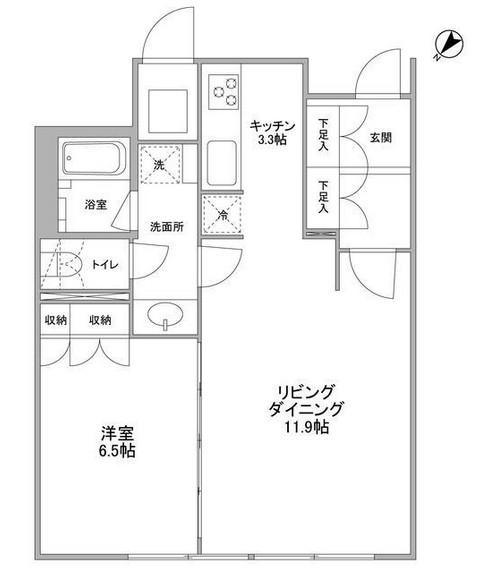 渋谷プロパティータワー1512号室