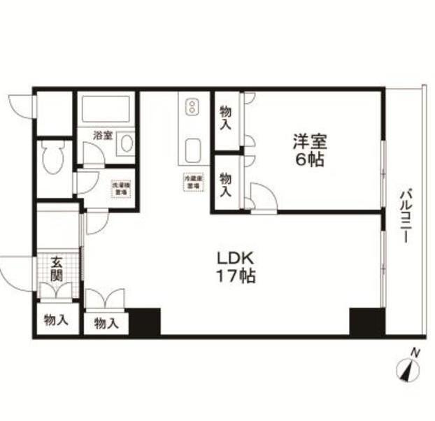 グランフォーレ308号室