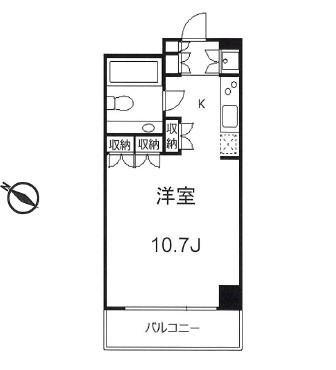 太子堂イースト205号室