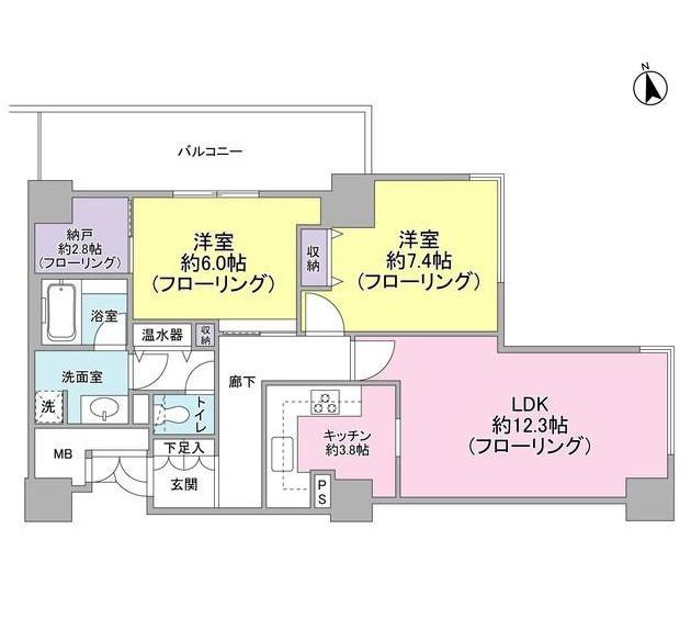 代官山アドレス・ザ・タワー13F号室