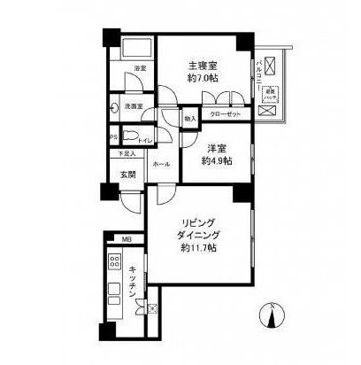 南青山パークマンション602号室
